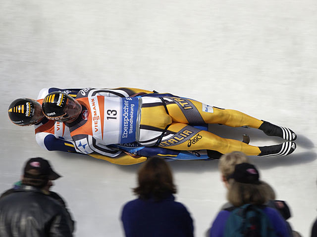 Lake Placid luge racing