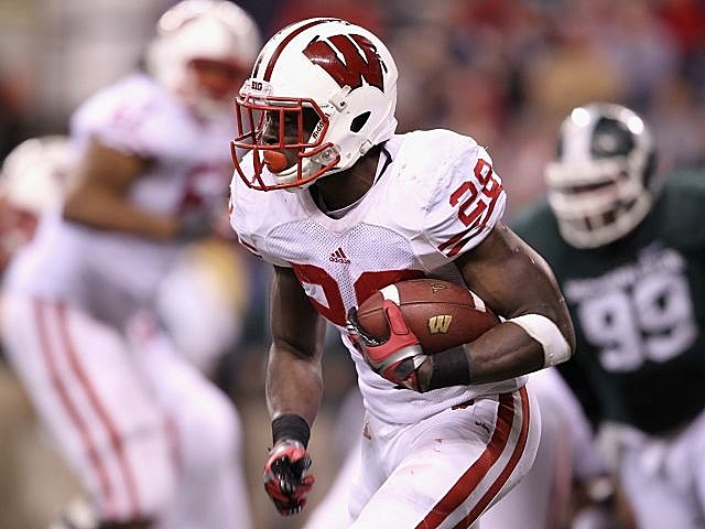 Wisconsin running back Montee Ball could break Barry Sanders' single-season touchdown record.