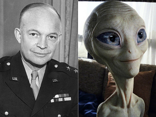 Dwight D. Eisenhower and Paul from 'Paul'