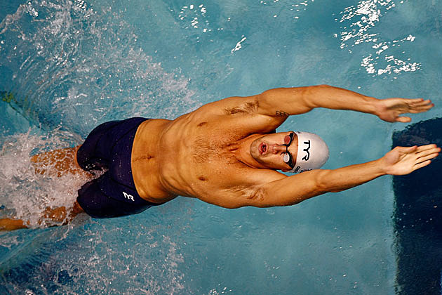 Matt Grevers shirtless