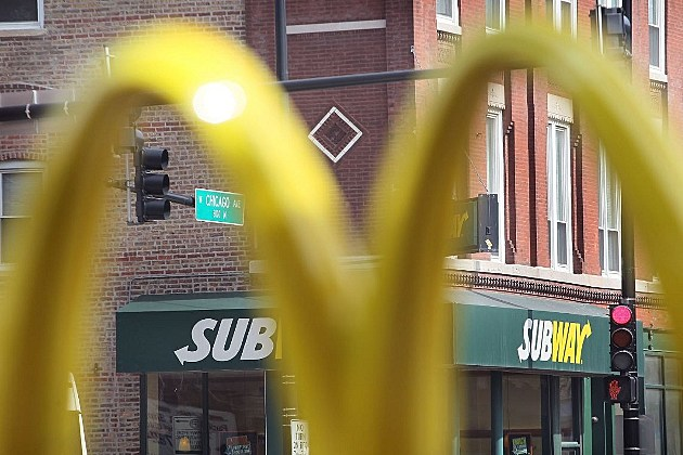 Subway McDonalds