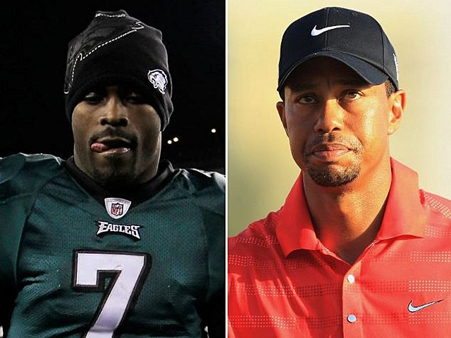 Tiger Woods Michael Vick