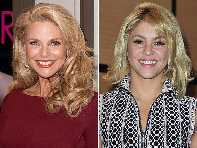 Christie Brinkley, Shakira