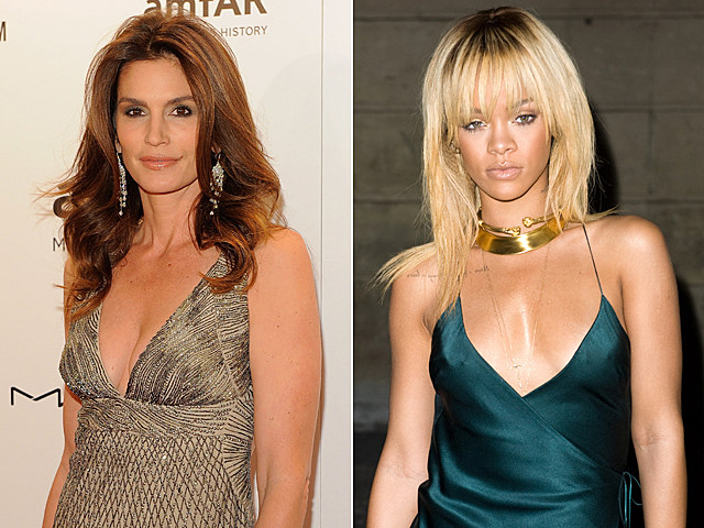 Cindy Crawford, Rihanna