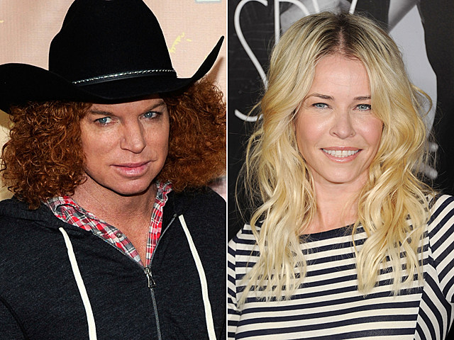 Carrot Top, Chelsea Handler