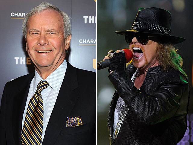 Tom Brokaw, Axl Rose