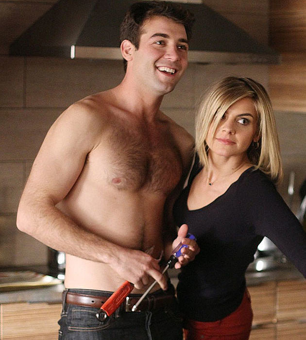 James Wolk shirtless