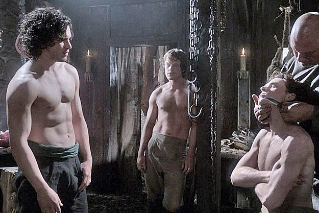 Kit Harington shirtless