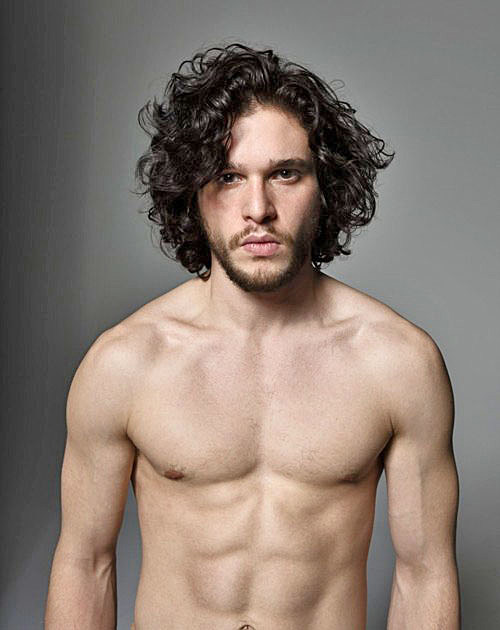 Kit Harington shirtless, Men's Journal