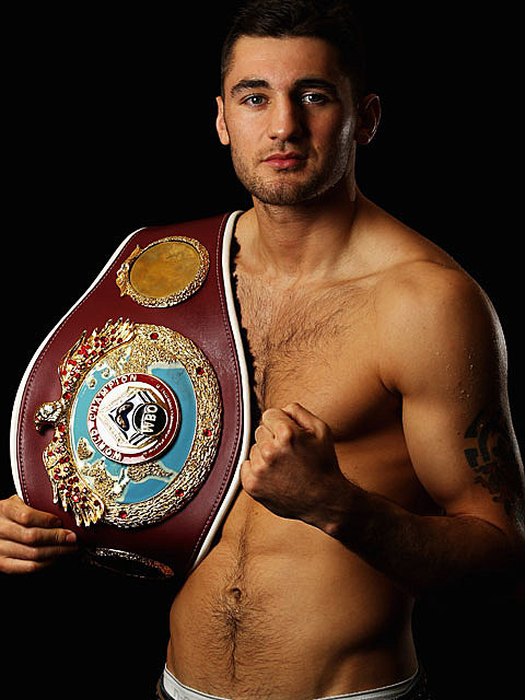 Nathan Cleverly shirtless