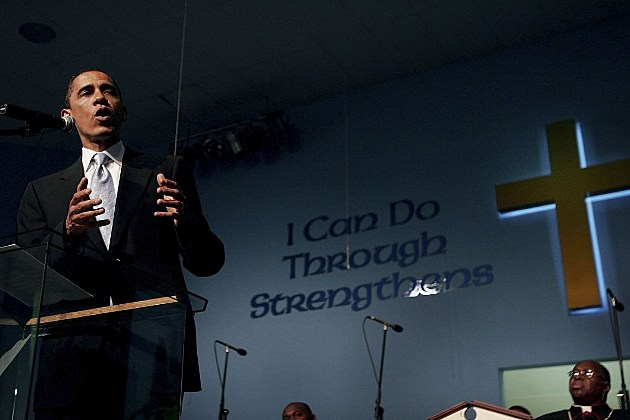 Barack Obama church