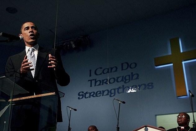 Barack Obama church