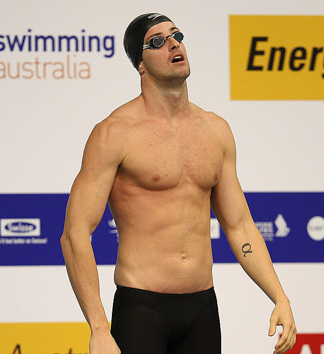 James Magnussen shirtless