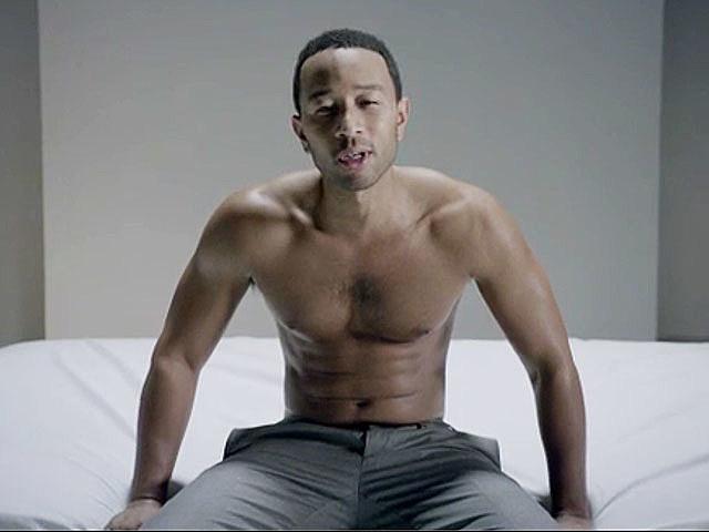 John Legend shirtless, 'Tonight (Best You've Ever Had)'