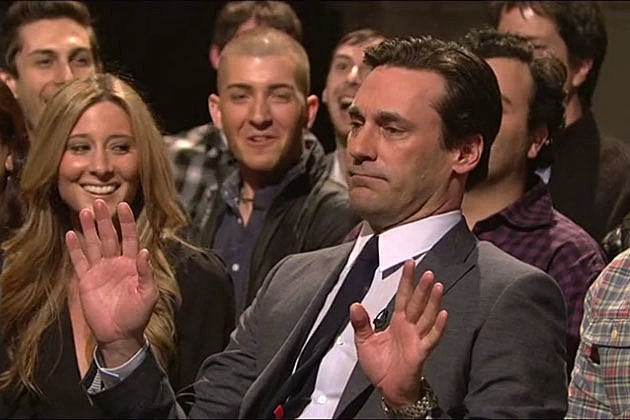 Jon Hamm on 'SNL'