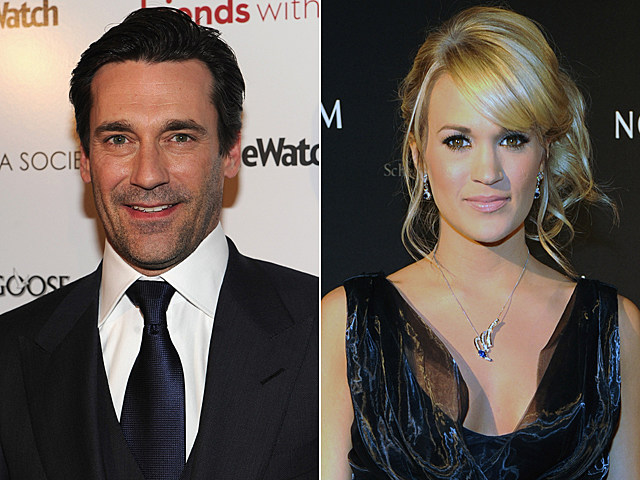 Jon Hamm, Carrie Underwood