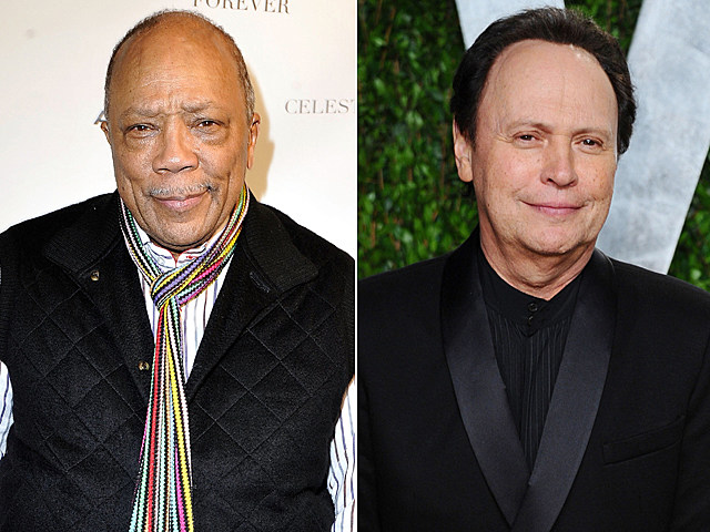 Quincy Jones, Billy Crystal