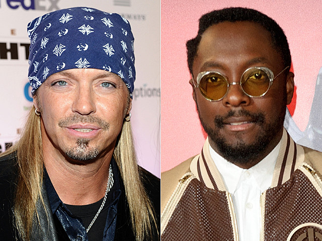 Bret Michaels, will.i.am