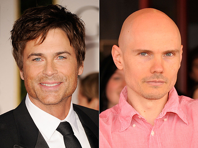 Rob Lowe, Billy Corgan