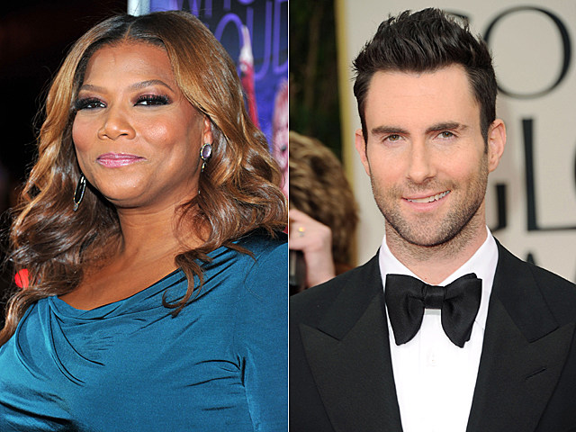 Queen Latifah, Adam Levine