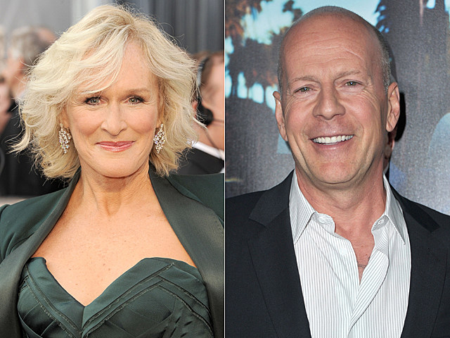 Glenn Close, Bruce Willis
