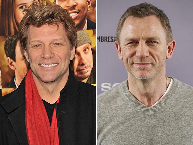 Jon Bon Jovi, Daniel Craig