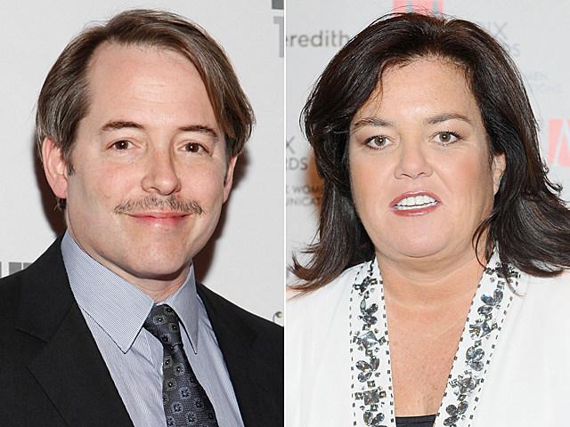 Matthew Broderick, Rosie O'Donnell