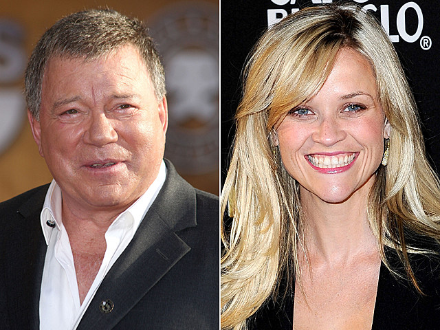 William Shatner, Reese Witherspoon