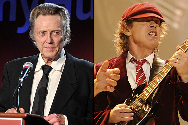 Christopher Walken, Angus Young