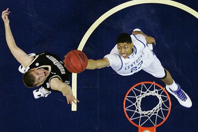 SEC Basketball Tournament - Vanderbilt v Kentucky anthony davis march madness ncaa