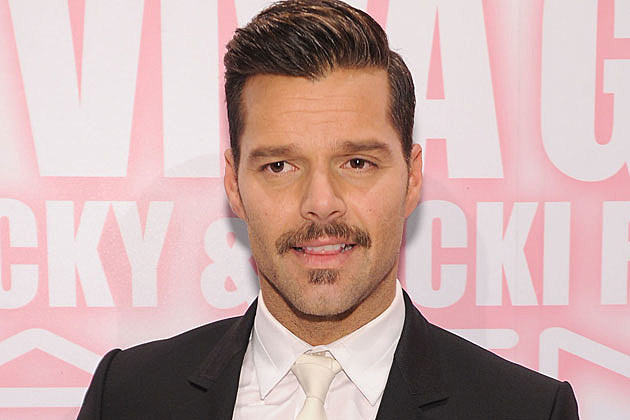 Ricky Martin's mustache