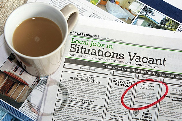 Unemployment Rate Hits Nine-Year High newspaper coffee