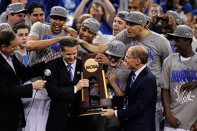 Kentucky Wins 2012 NCAA Title
