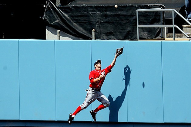 Bryce Harper catch