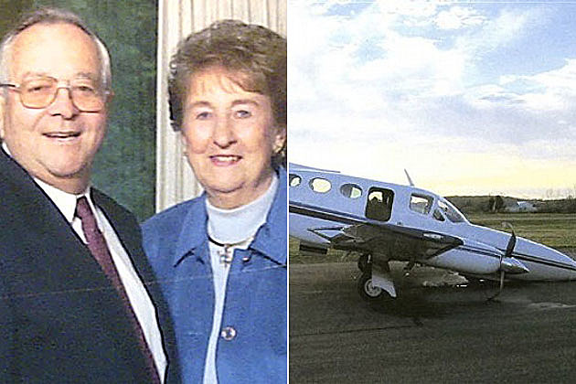 80-year-old Helen Collins Lands Plane