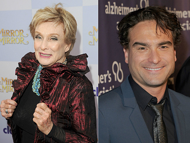 Cloris Leachman and Johnny Galecki both celebrate birthdays on April 30