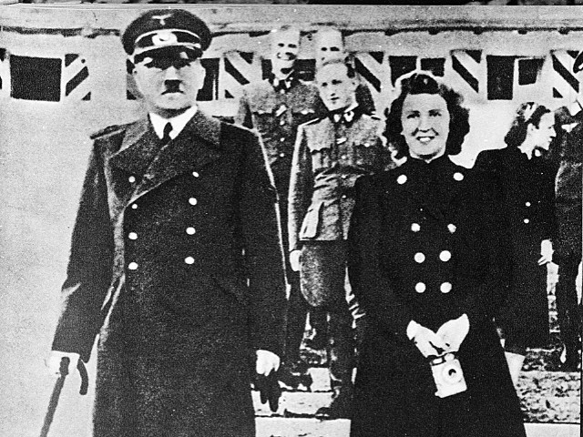 Adolf Hitler and Eva Braun committed suicide one day after they married in 1945