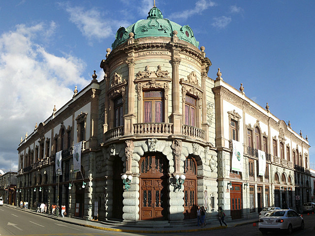 historical building in Oaxaca, Mexico