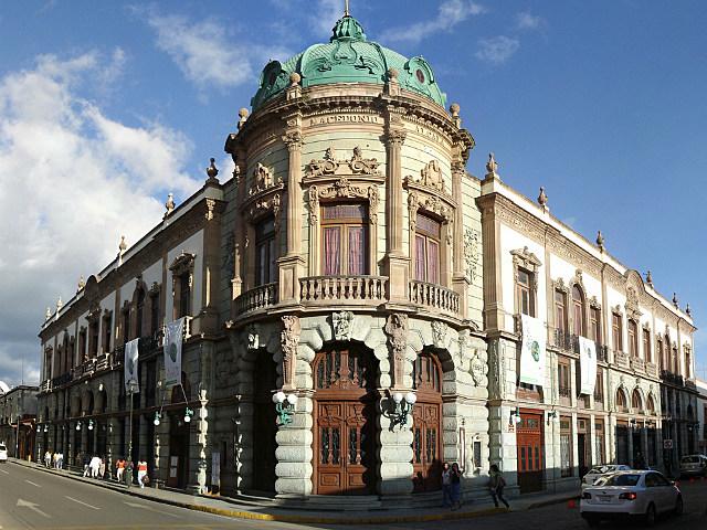 historical building in Oaxaca, Mexico