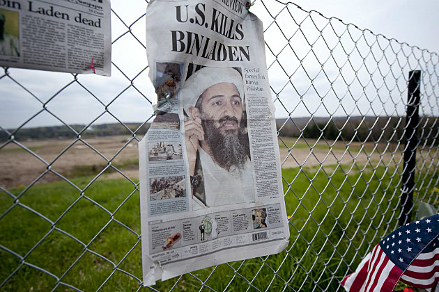 Americans react to the death of Osama bin Laden