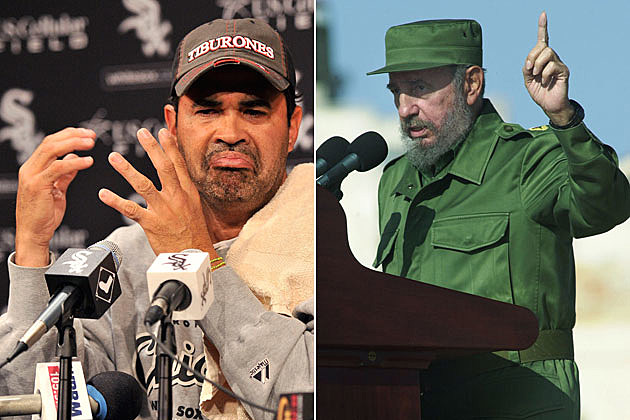 Ozzie Guillen-Fidel Castro
