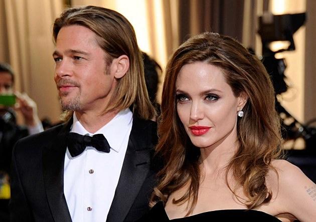 Pitt Jolie Left