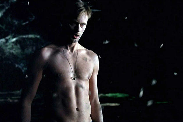 Alexander Skarsgard shirtless in 'True Blood'