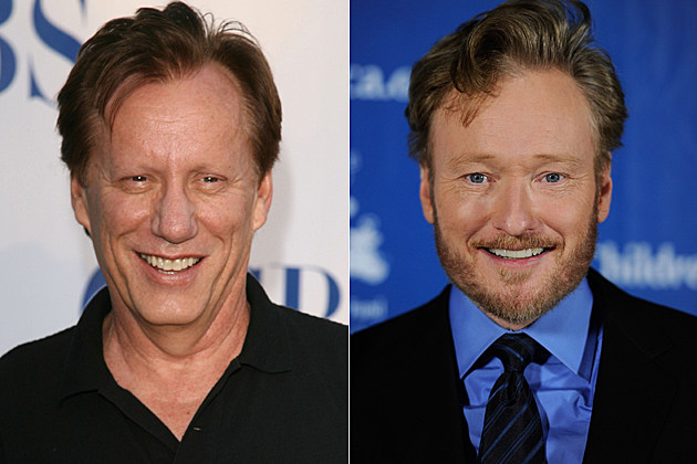 James Woods, Conan O'Brien