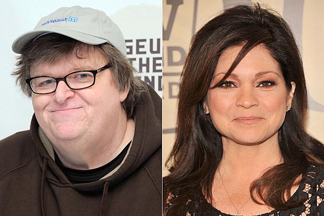 Michael Moore, Valerie Bertinelli