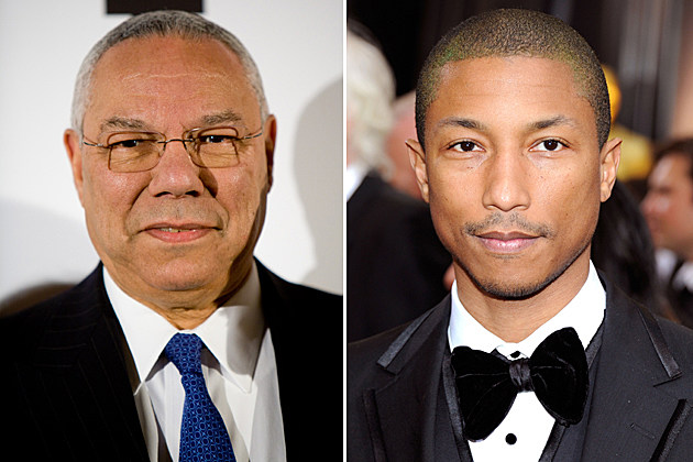 Colin Powell, Pharrell Williams