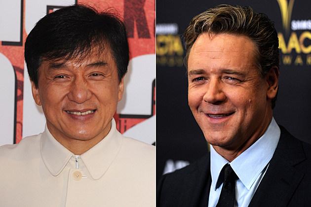 Jackie Chan, Russell Crowe