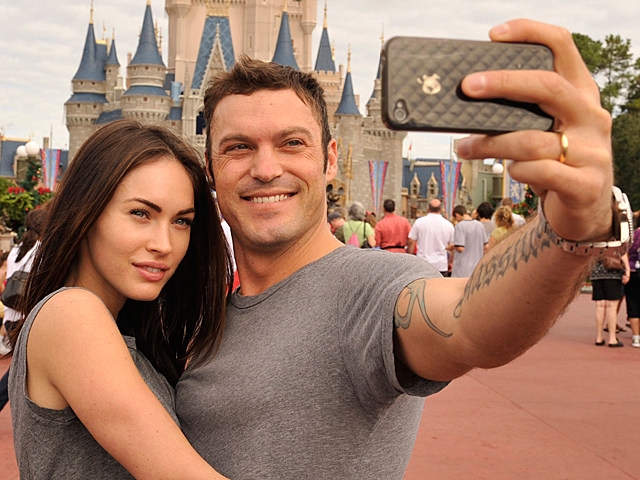 Brian Austin Green with Megan Fox