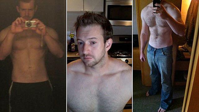Charles Forman shirtless