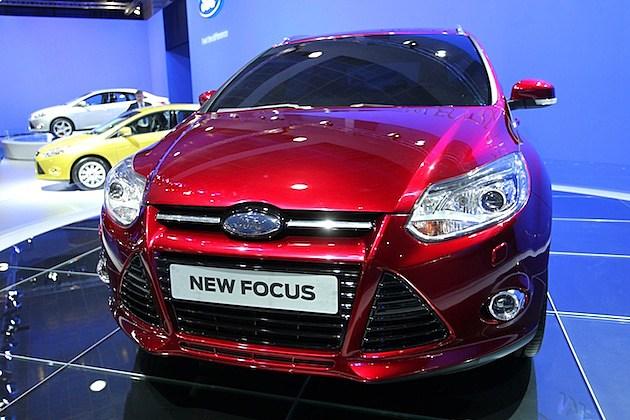 Prince Philippe of Belgium Inaugurates Professional Vehicles Fair ford focus